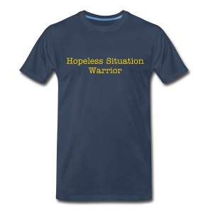 Hopeless Situation Warrior - Men's Premium T-Shirt