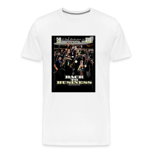 G-UNIT-WHITE-XXXL - Men's Premium T-Shirt