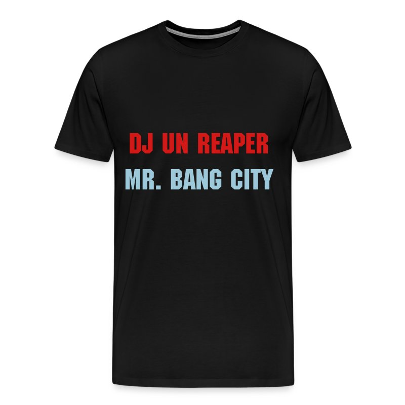 Mr. Bang City (Black) - Men's Premium T-Shirt
