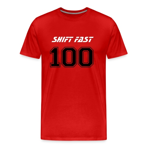 SF: #100 Front/Back - Men's Premium T-Shirt