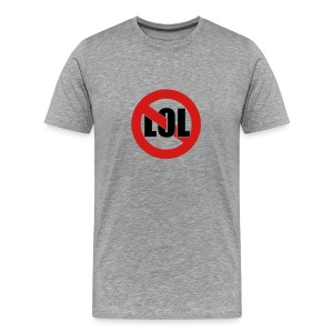 LOL Grey - Men's Premium T-Shirt