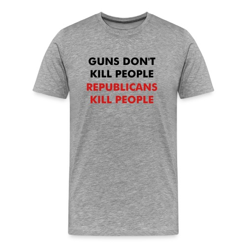 Anti-Republican t-shirt - Men's Premium T-Shirt