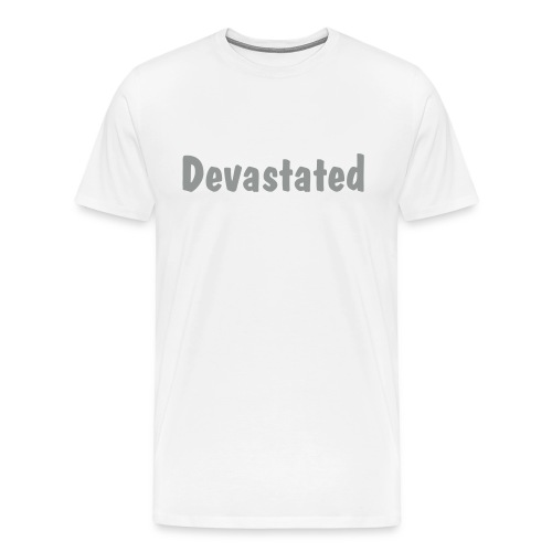 Devastated Tee - Men's Premium T-Shirt