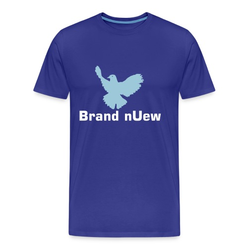 Mens XXXL:  Brand nUew Blue Dove - Men's Premium T-Shirt