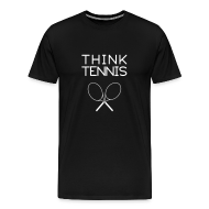 T-Shirts ~ Men's Premium T-Shirt ~ think.tennis (black)