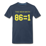 T-Shirts ~ Men's Premium T-Shirt ~ The New Math - Blue
