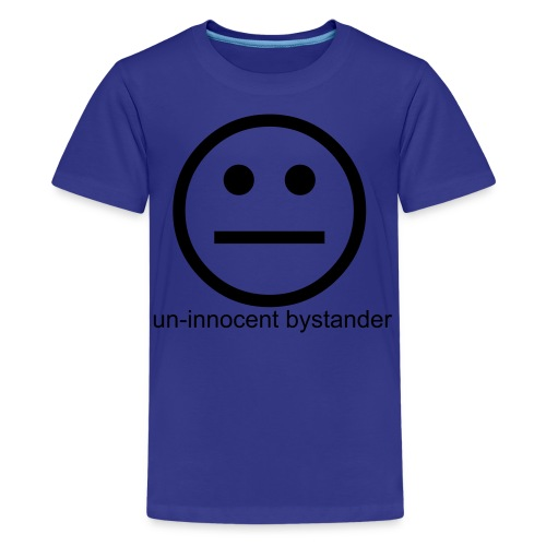 bystander blue boy - Kids' Premium T-Shirt