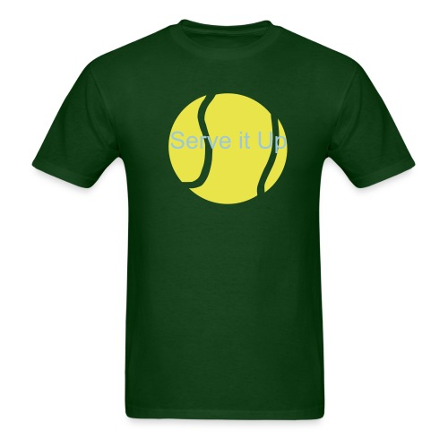 tennis green - Men's T-Shirt