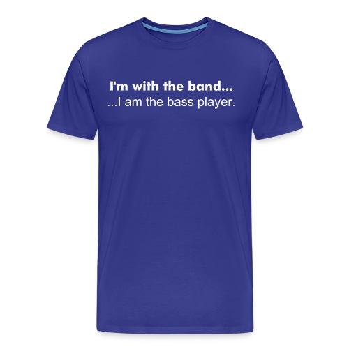 Band, Bass player - Men's Premium T-Shirt