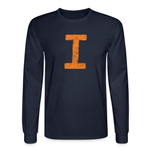 I is for Illinois - Men's Long Sleeve T-Shirt