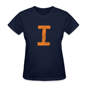I is for Illinois - Women's T-Shirt