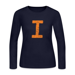 I is for Illinois - Women's Long Sleeve Jersey T-Shirt