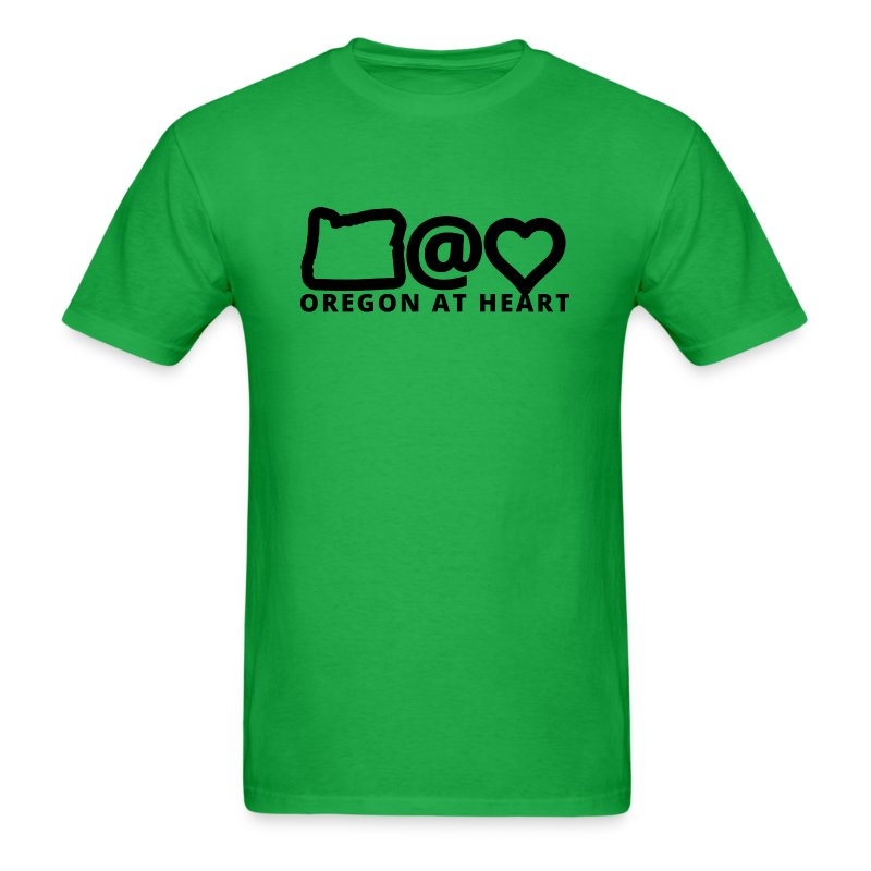 Oregon at Heart - Men's T-Shirt