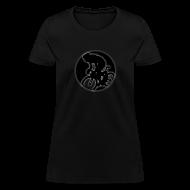 T-Shirts ~ Women's T-Shirt ~ Stealth Female Bike Racer