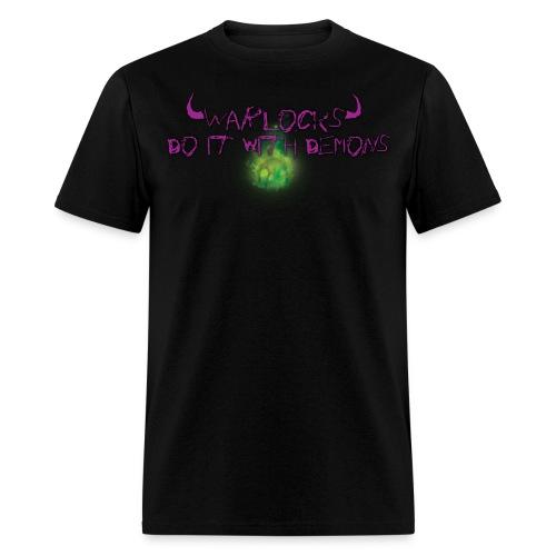 Warlocks World of Warcraft - Men's T-Shirt