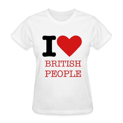 i LOVE BR - Women's T-Shirt