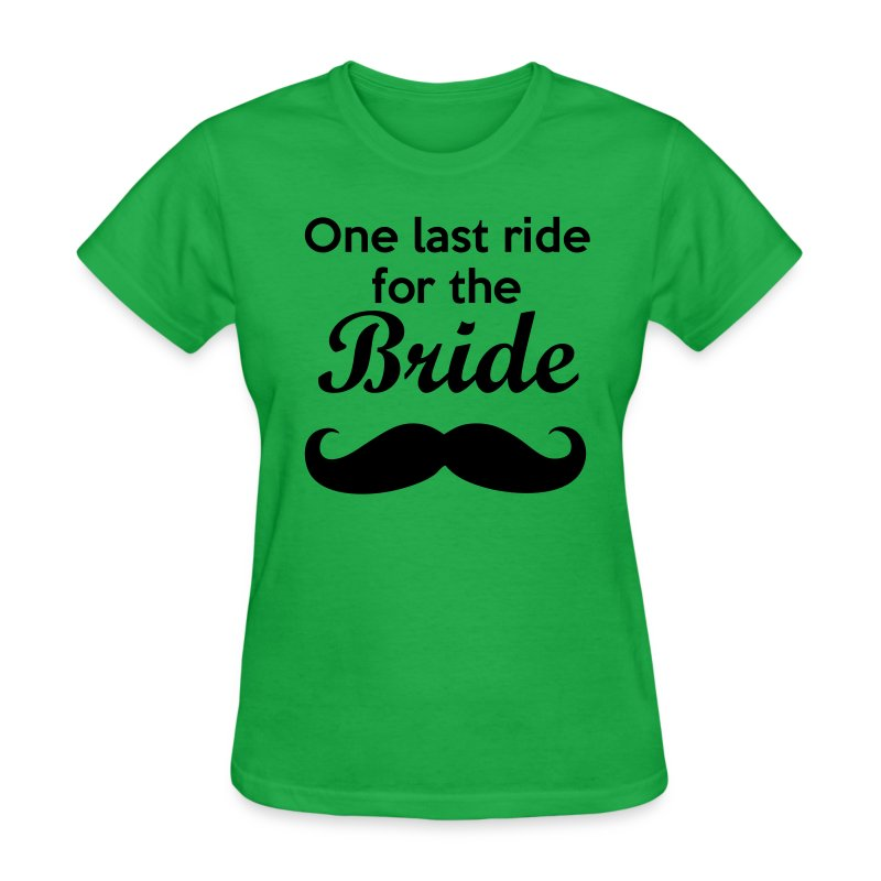 One Last Ride For The Bride Bachelorette Party Shirt T