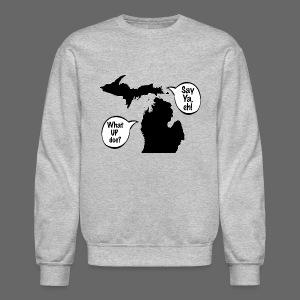 Michigan Talk - Crewneck Sweatshirt