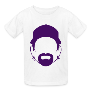 The Toddfather Headshot - Purple - Kids - Kids' T-Shirt