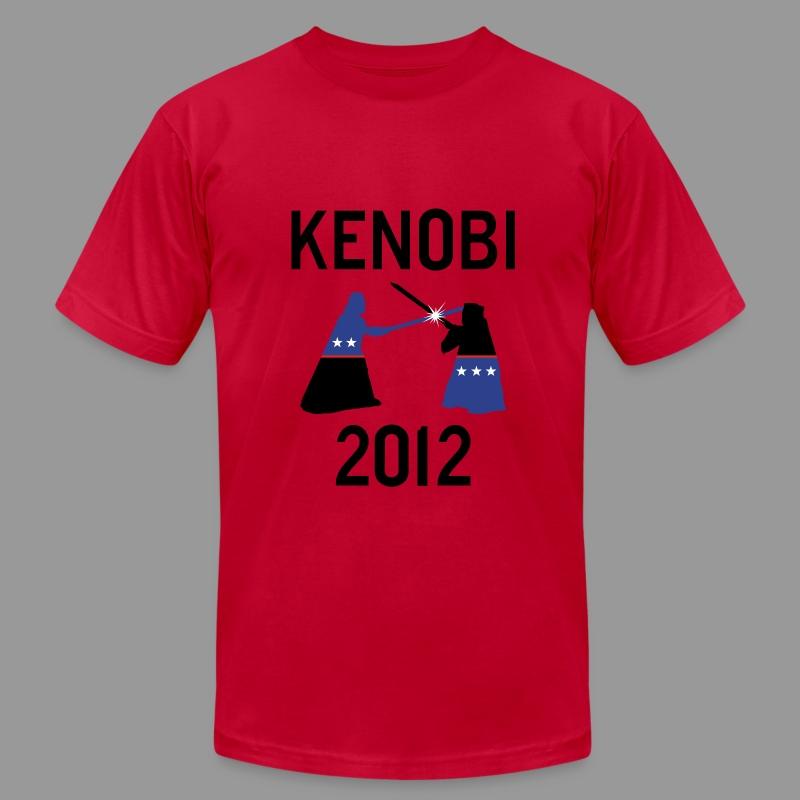 Kenobi 2012 Vader - Men's Fine Jersey T-Shirt