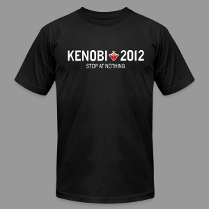 Stop Kenobi 2012 Black - Men's T-Shirt by American Apparel