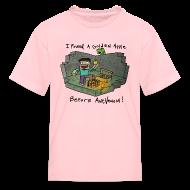 Kids' Shirts ~ Kids' T-Shirt ~ Kid's T-Shirt: Steve's Golden Apple
