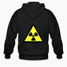 Radioactive Symbol Zip Hoodies/Jackets
