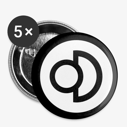 Deconbrio Buttons - Buttons small 1'' (5-pack)