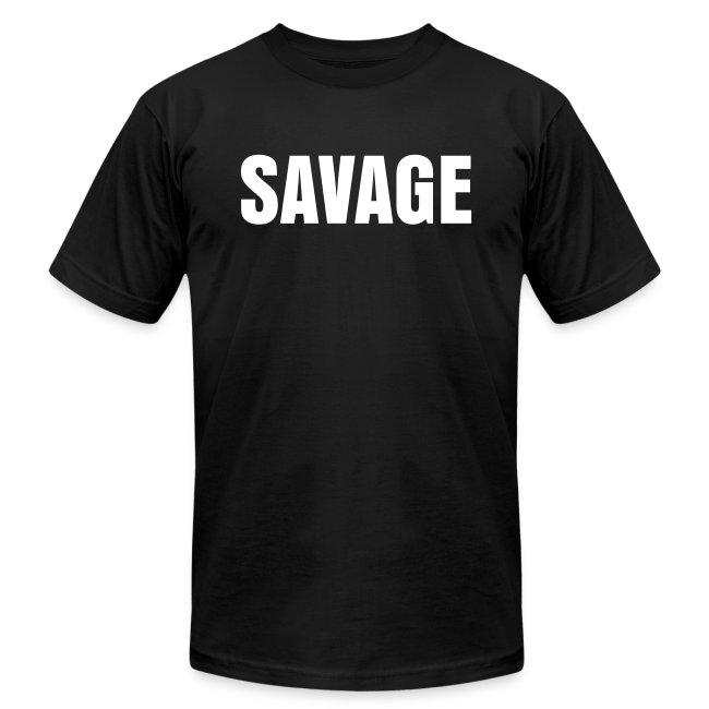 Mens SAVAGE  Bitter Obese Weightlifter Tee