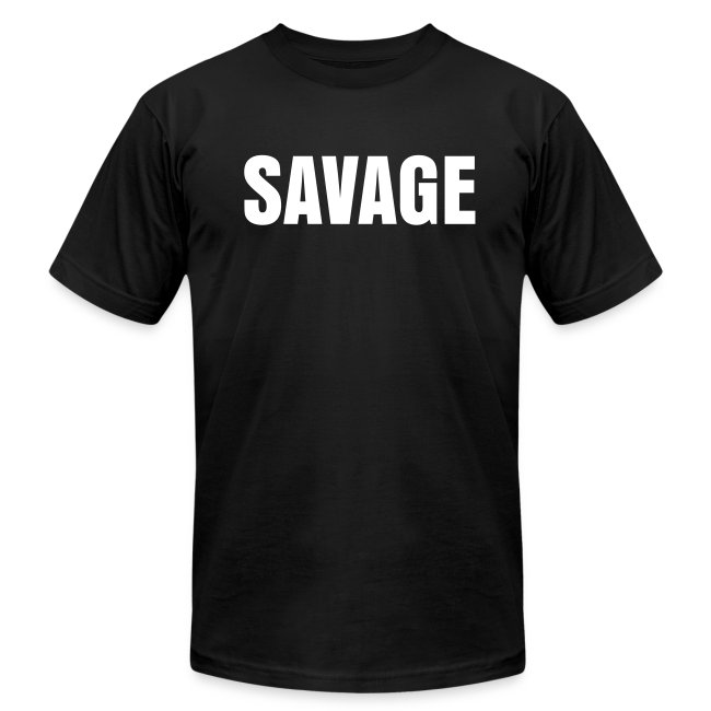 Mens SAVAGE  Bitter Obese Powerlifter Tee