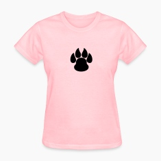Paw Print HD VECTOR Women's T-Shirts