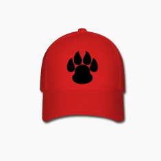 Paw Print HD VECTOR Caps