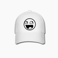 Happy Face HD VECTOR Caps