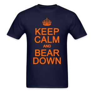 Keep Calm and Bear Down - Men's T-Shirt
