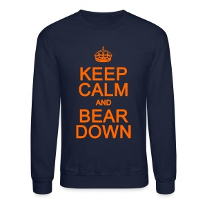 Keep Calm and Bear Down - Crewneck Sweatshirt
