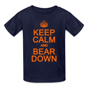Keep Calm and Bear Down - Kids' T-Shirt