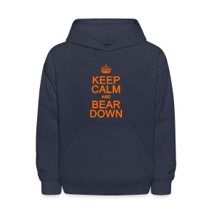 Keep Calm and Bear Down - Kids' Hoodie