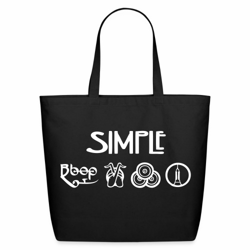 Simple Tote Bag - Eco-Friendly Cotton Tote
