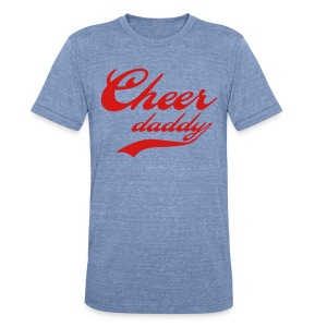 Cheer Daddy Mens Tri-blend vintage - Unisex Tri-Blend T-Shirt by American Apparel