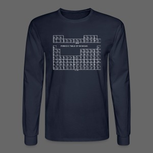 Periodic Table of Michigan - Men's Long Sleeve T-Shirt