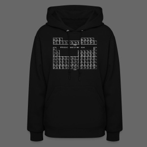Periodic Table of Michigan - Women's Hoodie