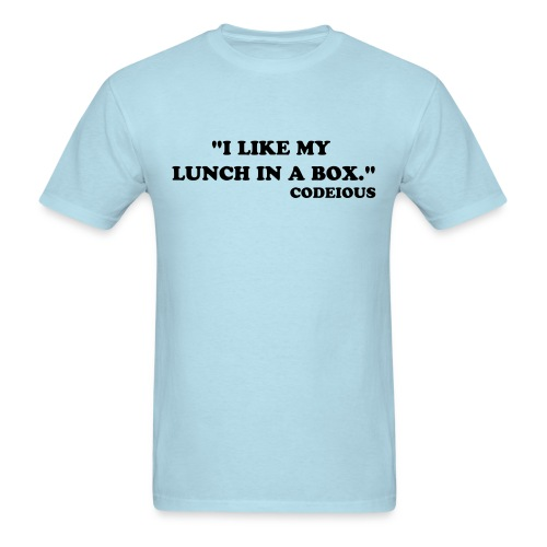 I Like My Lunch In A Box - Men's T-Shirt