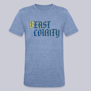 BEast County - Unisex Tri-Blend T-Shirt by American Apparel