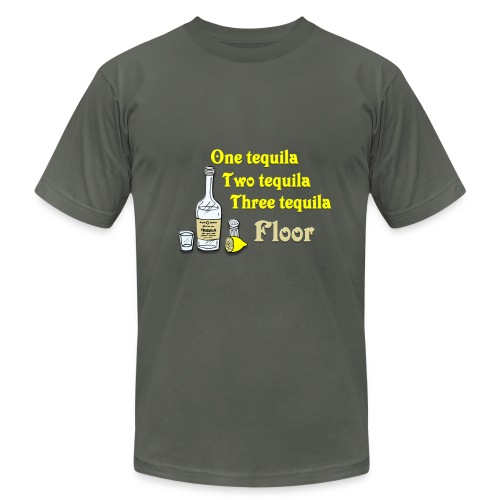 One tequila, Two tequila, Three Tequila, Flour #2 - Men's Fine Jersey T-Shirt