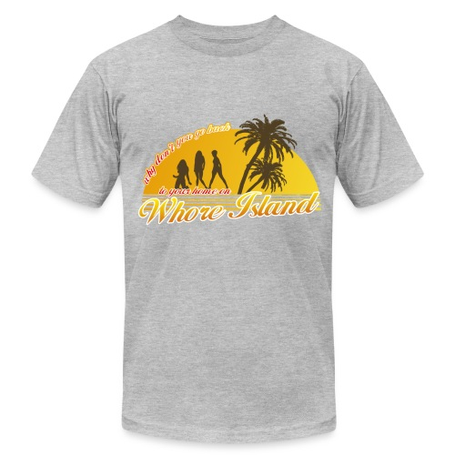 Whore Island T-Shirt - Men's Fine Jersey T-Shirt