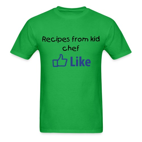 Recipes from kid chef 1 - Men's T-Shirt