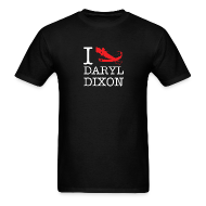 T-Shirts ~ Men's T-Shirt ~ I Crossbow Daryl Dixon - White Logo