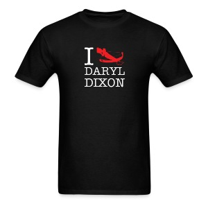 I Crossbow Daryl Dixon - White Logo - Men's T-Shirt
