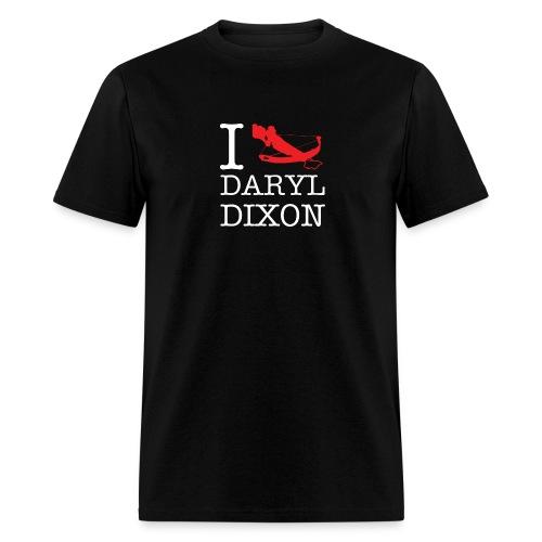 I Crossbow Daryl Dixon - White Logo - Men's T-Shirt