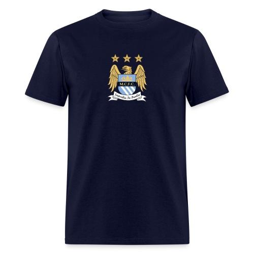 Manchester City Crest - Men's T-Shirt
